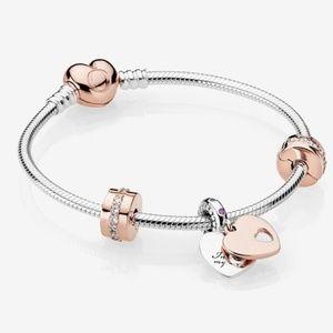 PANDORA In My Heart Bracelet Gift Set Pandora Rose